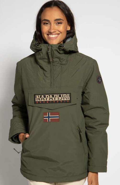 Napapijri Damen Overshirt Rainforest mit Taschen für 170,92€ inkl. Versand (statt 240€)