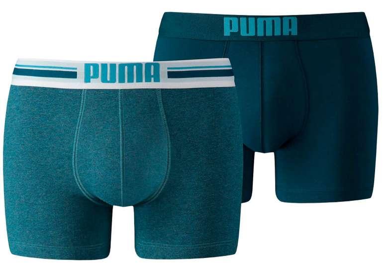 Puma Placed Logo Short Boxershorts 2er Pack für 10€ inkl. Versand (statt 17€)