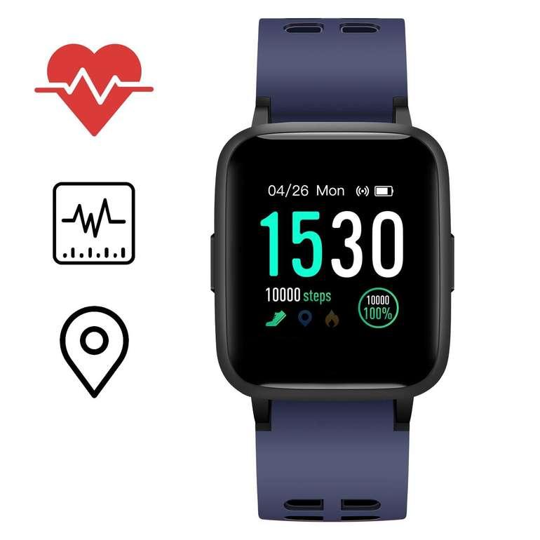 Icefox Fitness Tracker mit IP68 Schutz für 29,99€ inkl. VSK