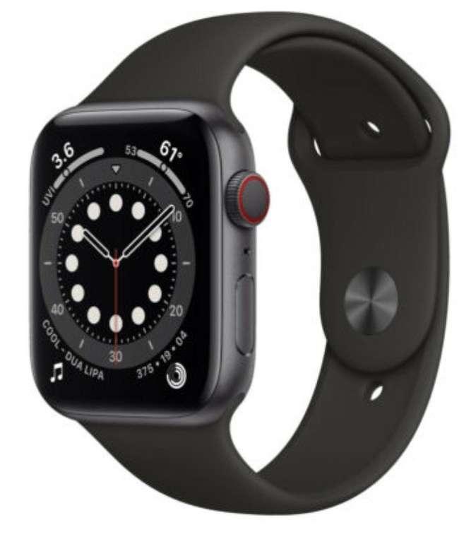 Apple Watch Series 6 (GPS + LTE) in 44mm für 493,15€ inkl. Versand (statt 536€)