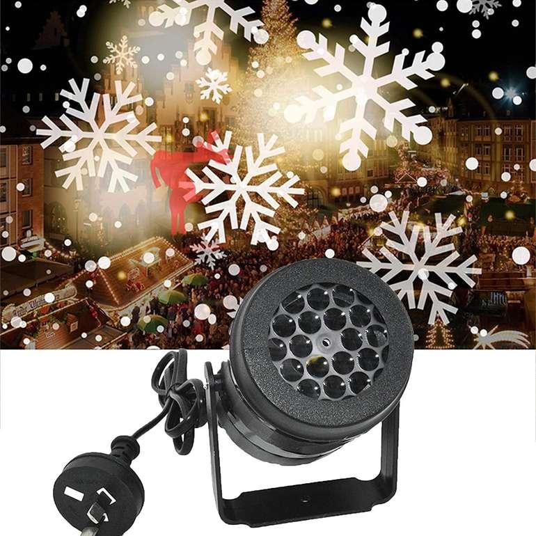 Meiting LED Schneeprojektor für 9,79€ inkl. Versand (statt 18€)