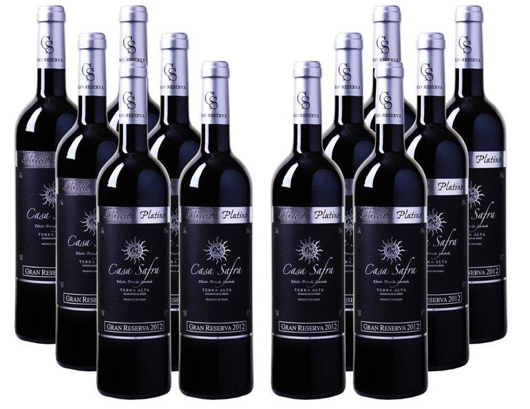 12er-Paket Casa Safra - Selección Platino Gran Reserva - Terra Alta DO zu 49,92€