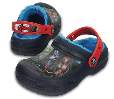 Hot! 30% auf fast alle Crocs + Versandkostenfrei - z.B. Marvel Kids Croc 18€