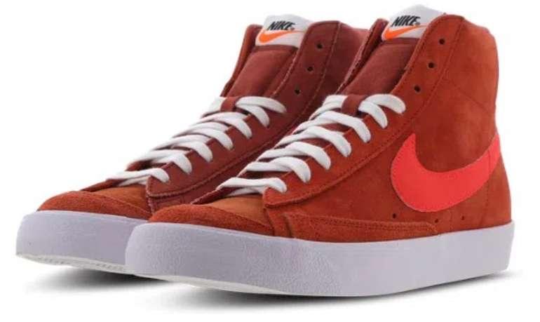 Nike Blazer Mid '77 Vintage Herren Sneaker in Brown-Red-White für 49,99€ (statt 83€)