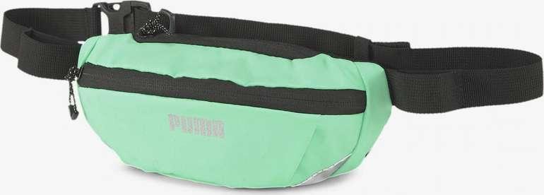 Puma Hüfttasche 'Running' in Green Glimmer für 11,90€ inkl. Versand (statt 14€)