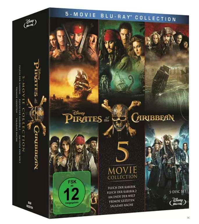 Pirates of the Caribbean 1 - 5 (Blu-Ray) für 22,97€ inkl. Prime Versand (statt 35€)