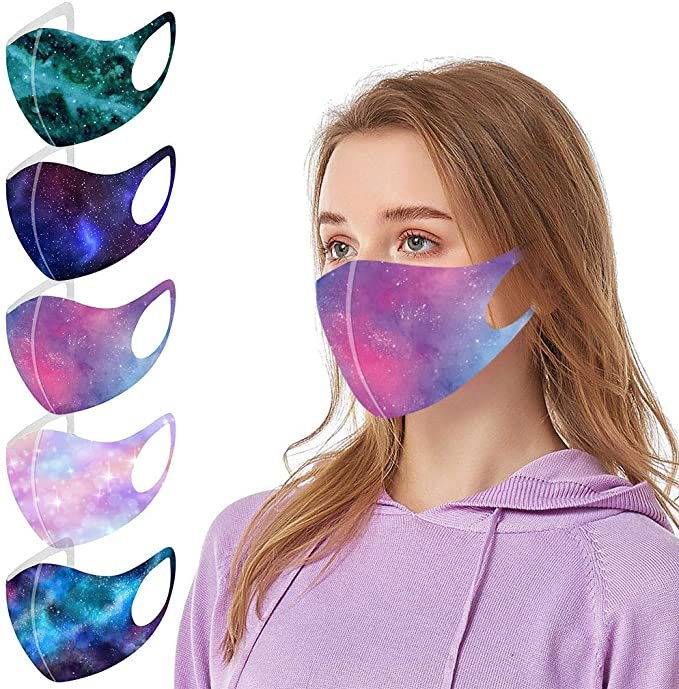 Hingpy 5er Pack Mund-Nase-Masken mit verschiedenen Motiven für je 2,94€ inkl. Versand (statt 10€)