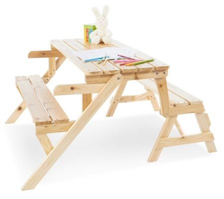 Pinolino 2in1 Kindersitzgarnitur + Gartenbank Elli für 44,44€ inkl. VS (VG: 63€)
