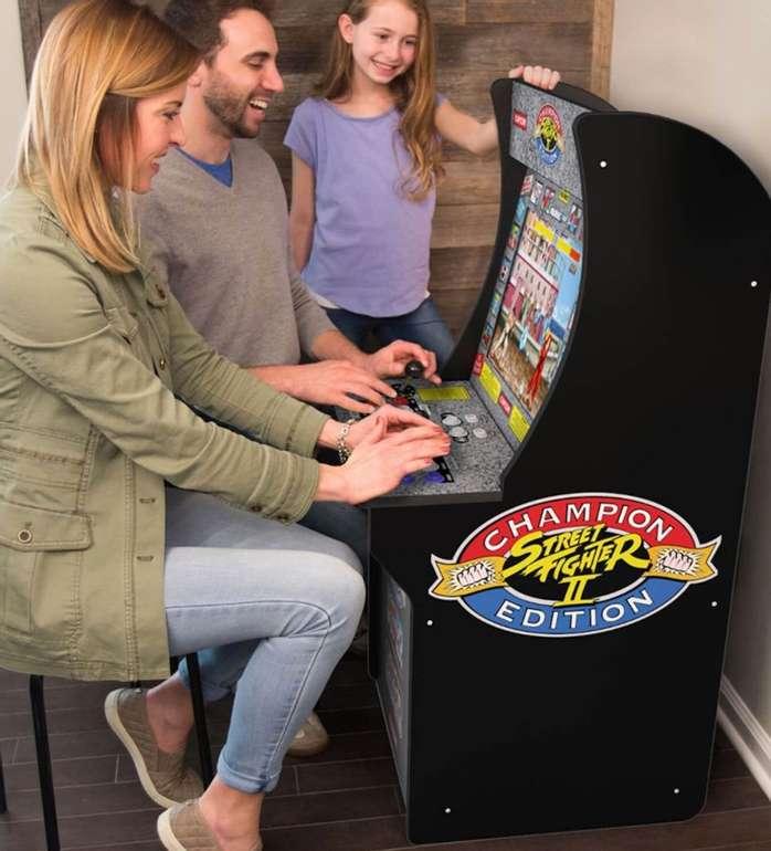 Arcade1Up Street Fighter II Champion Edition Retro-Spielautomat für 259,44€ inkl. Versand (statt 395€)