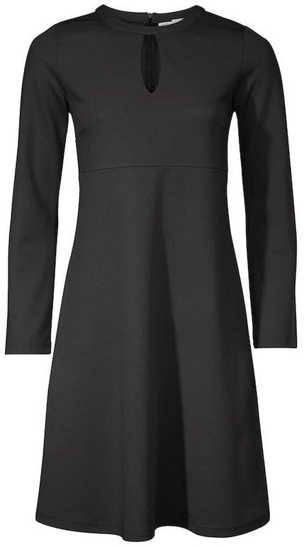Heine Damen Jerseykleid in schwarz für 18,83€ inkl. VSK