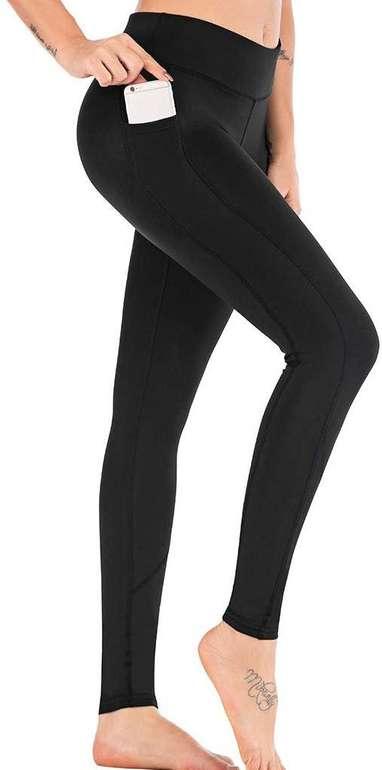 Momoxi Damen Sport Leggings mit Handytasche in verschiedenen Farben ab 6€ inkl. Versand