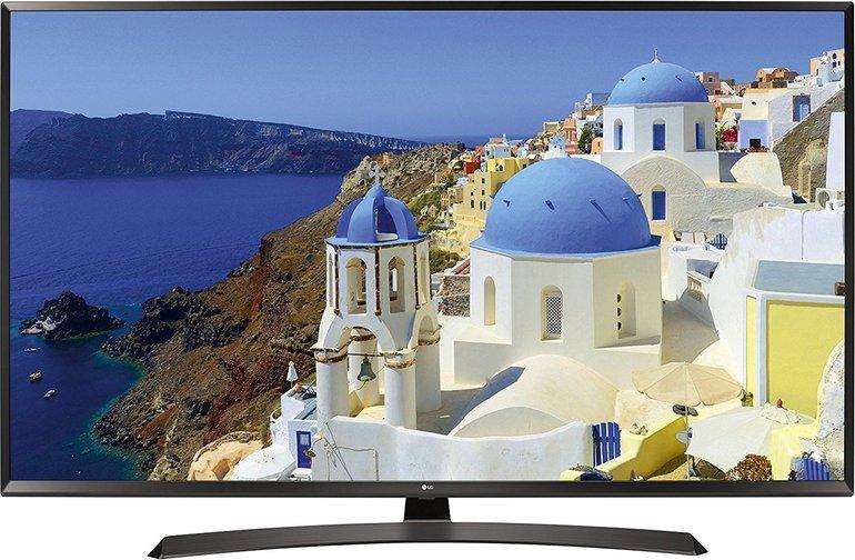 "LG 49UJ634V UHD Smart TV (49"", Triple Tuner, PVR, HDR) für 376,23€ inkl. Versand"