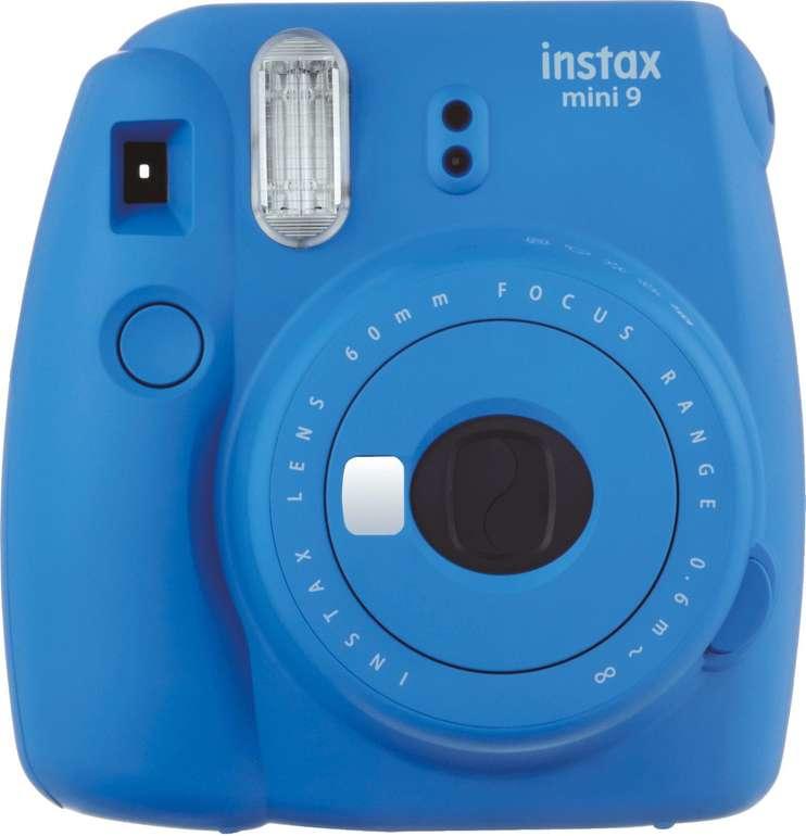 Fujifilm Instax Mini 9 Cobald Blau für 49€ inkl. VSK (statt 63€)