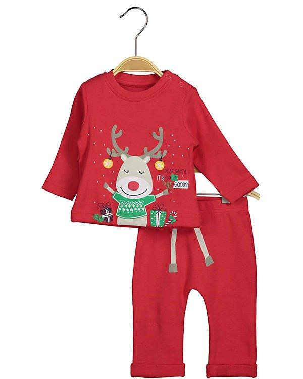 Blue Seven Baby Langarmshirt + Leggings Weihnachten (2 Größen) für 12,67€ inkl. VSK