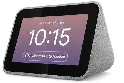 Lenovo Smart Clock mit Google Assistant für 64,90€ (statt 80€)