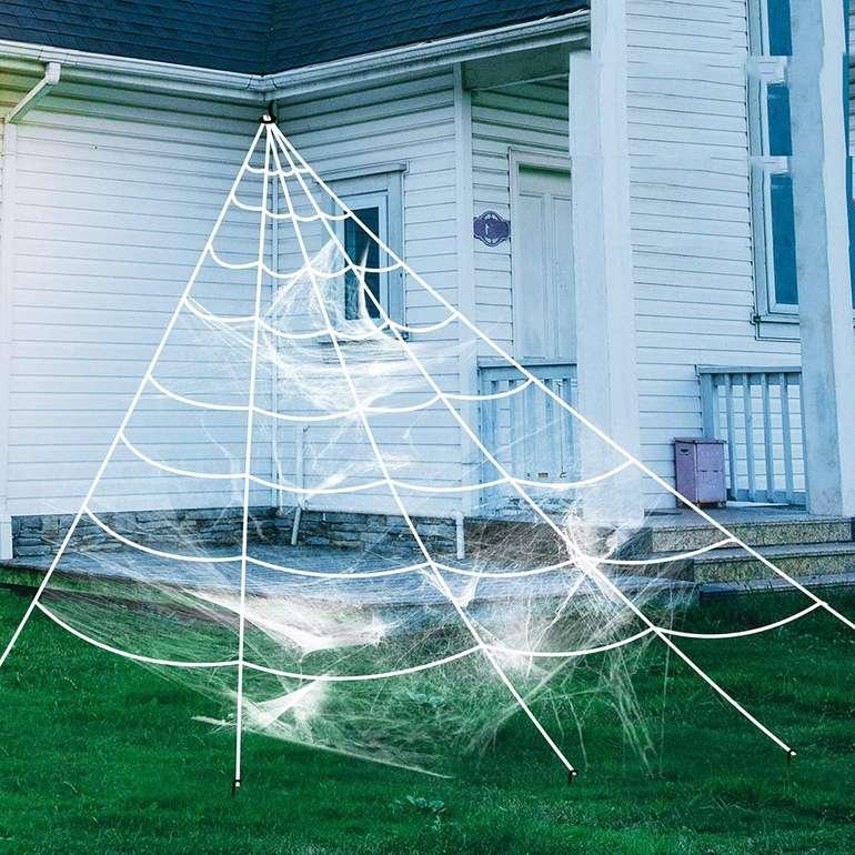 Zoylink Halloween Spinnennetz Deko Set für 4,99€ inkl. Prime VSK