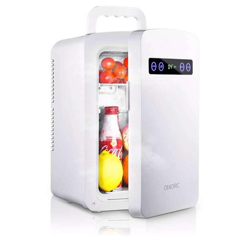 Omorc Minikühlschrank mit 10 Liter Volumen und AC/DC Adaptern zu 69,99€ (statt 146€)
