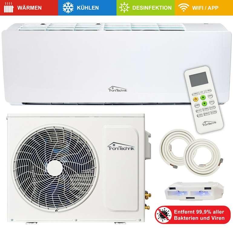 Split Klimaanlage 9000 BTU 5in1 UV-C Smart 5m (A+, R-32, 2001-2500 W) für 299€ inkl. Versand (statt 449€)