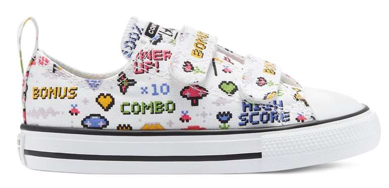 Converse Kids Sale mit 20% NL Rabatt + VSKfrei ab 35€ - z.B. Gamer Easy-On Chuck Taylor All Star Low Top für 19,99€ (statt 40€)