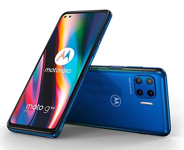 """Motorola g 5G Plus (4/64GB, 6,7"""" FHD+ 90 Hz Display, NFC, 5000mAh Akku) für 200€ (stat 254€)"""