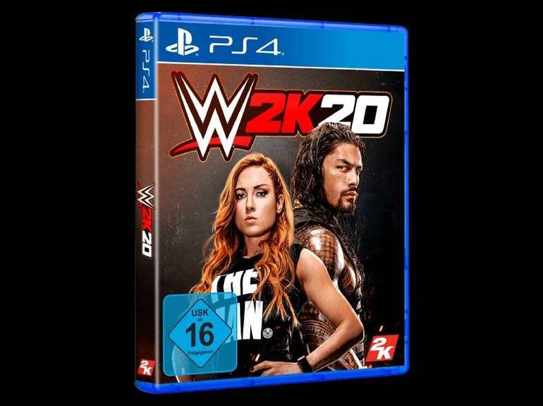 Doppelpack WWE 2K20 für 69,95€ (statt 102€) - Xbox oder PS4