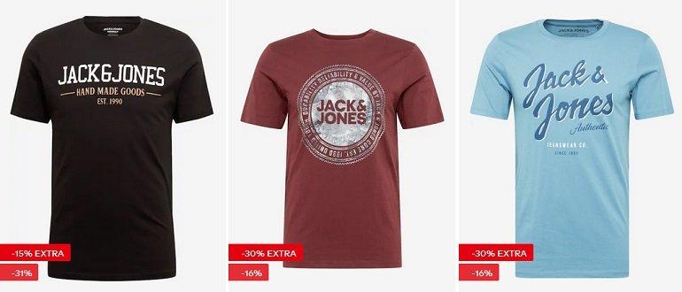 About You Jack & Jones T-Shirt Sale