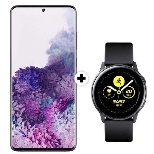 Samsung Galaxy S20 Plus + Samsung Galaxy Watch Active (79€) + Vodafone green LTE 26GB für 39,99€ mtl.