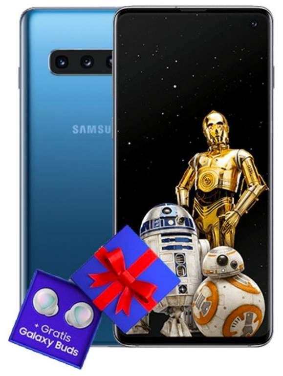 Samsung Galaxy S10 mit Galaxy Buds (79€) + otelo Allnet-Flat Max (20GB, All-Net & SMS-Flat) für 29,99€ mtl.