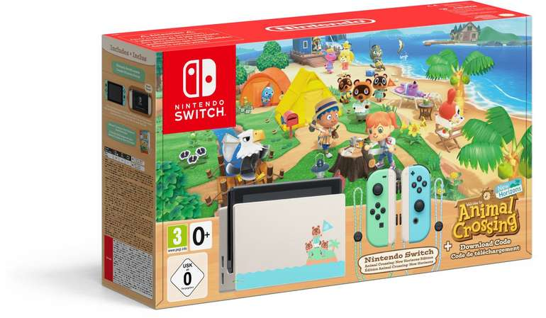 Nintendo Switch Animal Crossing: New Horizons Edition für 350,92€ (statt 390€)