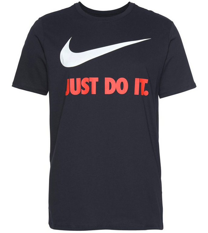 Nike T-Shirts im Angebot - z.B. Nike JDI Swoosh T-Shirt für 8,46€ inkl. Versand
