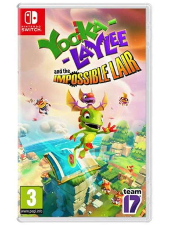 Yooka-Laylee and the Impossible Lair (Nintendo Switch) für 19,72€ inkl. Versand (statt 29€)