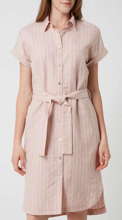 Jake*s Collection Kleid aus Leinenmischung in Rosé für 22,49€ inkl. Versand (statt 30€)