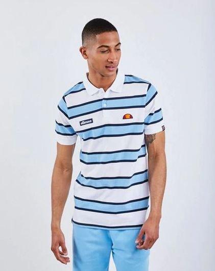 "Ellesse Poloshirt ""Marino Stripe"" (Herren) für 14,99€ inkl. Versand (statt 37€)"