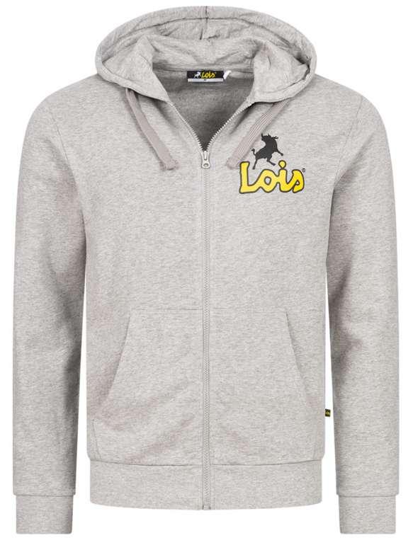 Lois Jeans Small Logo Herren Sweatjacke (vers. Farben) zu je 15,94€ inkl. Versand (statt 20€)