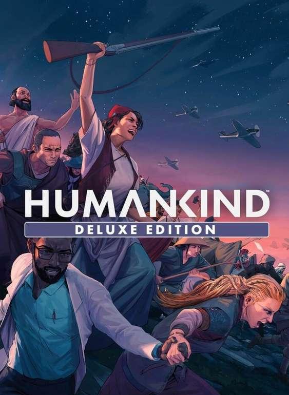 Humankind - Digital Deluxe Edition (Steam Key + Bonusinhalte, Win/Mac, englischer Ton, multilingualer Text) für 27,99€