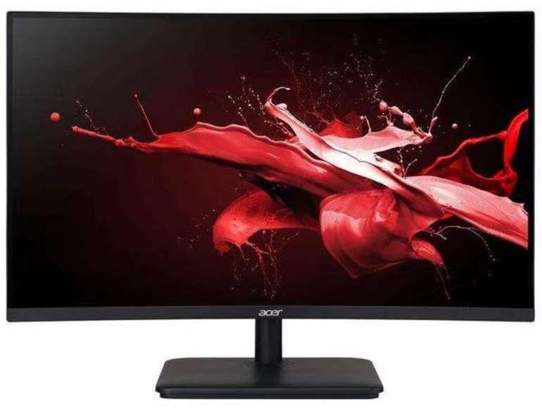 "Acer ED270X Curved Gaming-Monitor (27"", Full-HD, VA-Panel, HDMI, DisplayPort, 1ms, 240Hz, HDMI, Neigbar) für 247,76€"