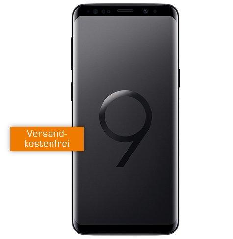 o2 Free M (10GB LTE / Allnet Flat) + Samsung Galaxy S9 (4,99€) für 29,99€ mtl.