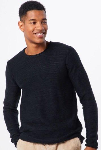 Only & Sons Pullover in schwarz für 16,14€ inkl. Versand (statt 34€)