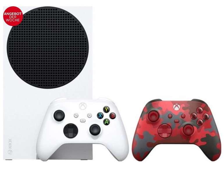 Xbox Series S inkl. 2. Controller (Daystrike Camo SE) für 301,95€ inkl. Versand (statt 331€)