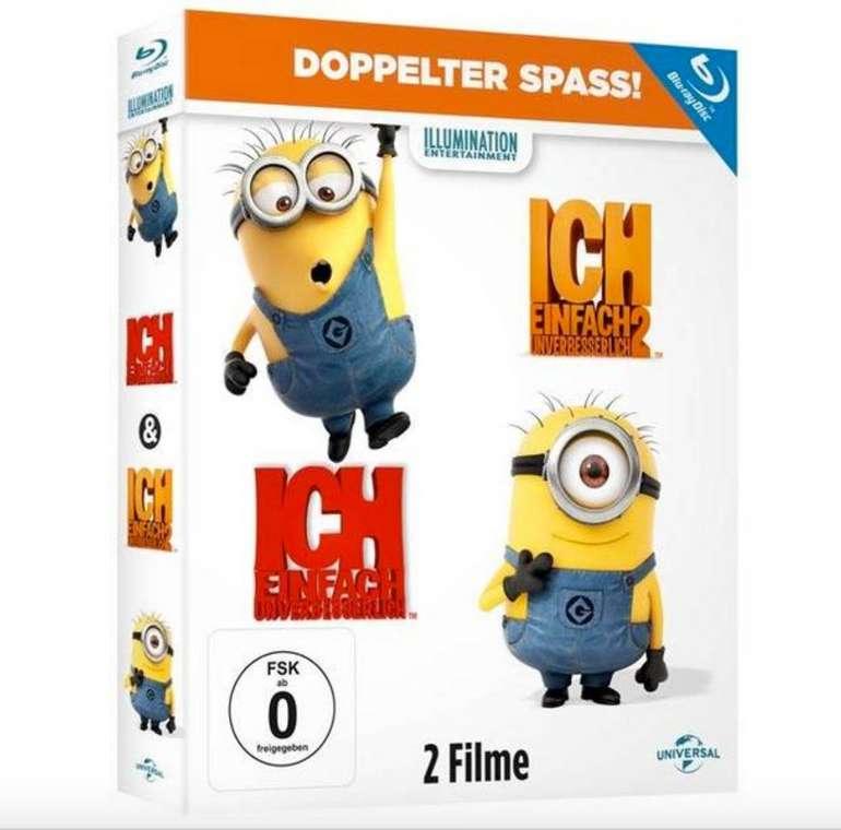 Ich - Einfach unverbesserlich 1 & 2 [Blu-ray] für 6,99€ (statt 14€)