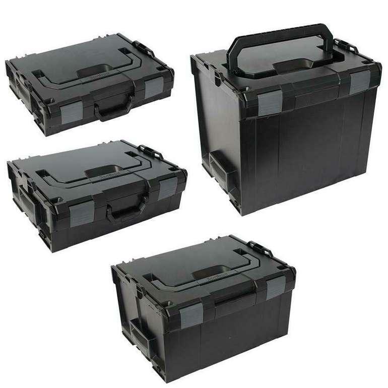 Sortimo Systemkoffer Set L-Boxx 102 + 136 + 238 + 374 für 125,95€ (statt 153€)