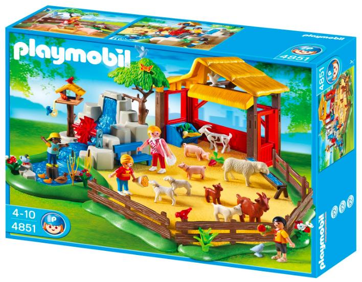 Playmobil -  Streichelzoo (4851) für 23,94€ inkl. Versand (statt 32€)