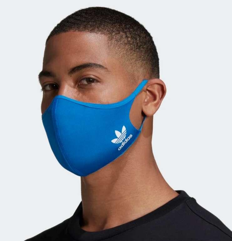 Adidas Face Cover in blau (3er Pack) für 10,21€ inkl. Versand (statt 15€) - Creators Club