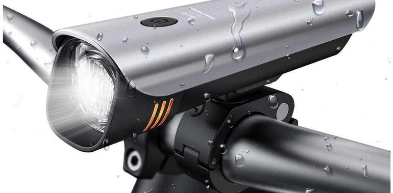 Outerdo Fahrradlicht LED - StVZO zugelassen USB wiederaufladbar für 9,99€ inkl. Prime (statt 20€)