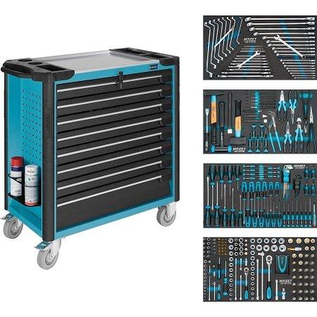 HAZET Werkstattwagen Assistent 179XL-8/317 mit 317 Werkzeugen für 2.969,10€