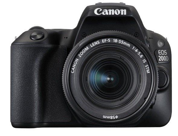 Canon EOS 200D Kit Spiegelreflexkamera + 18-55 mm Objektiv (DC, EF-S) für 444€ inkl. Versand (statt 600€)
