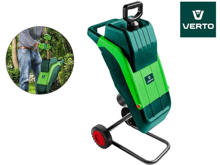 Verto Gartenhäcksler mit 2.500 W und 4.500 U/min (52G590) für 58,90€ inkl. VSK (statt 100€)