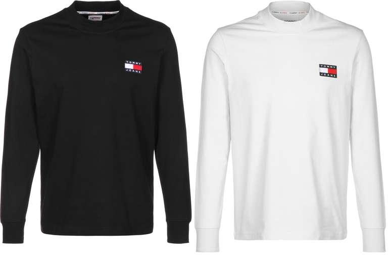 Tommy Jeans Badge Mock Neck Longsleeve in zwei Farben für je 32,30€ inkl. Versand (statt44€)
