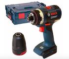 Bosch GSR 18 V-EC FC2 Akku-Bohrschrauber ohne Akku + L-Boxx für 142,49€