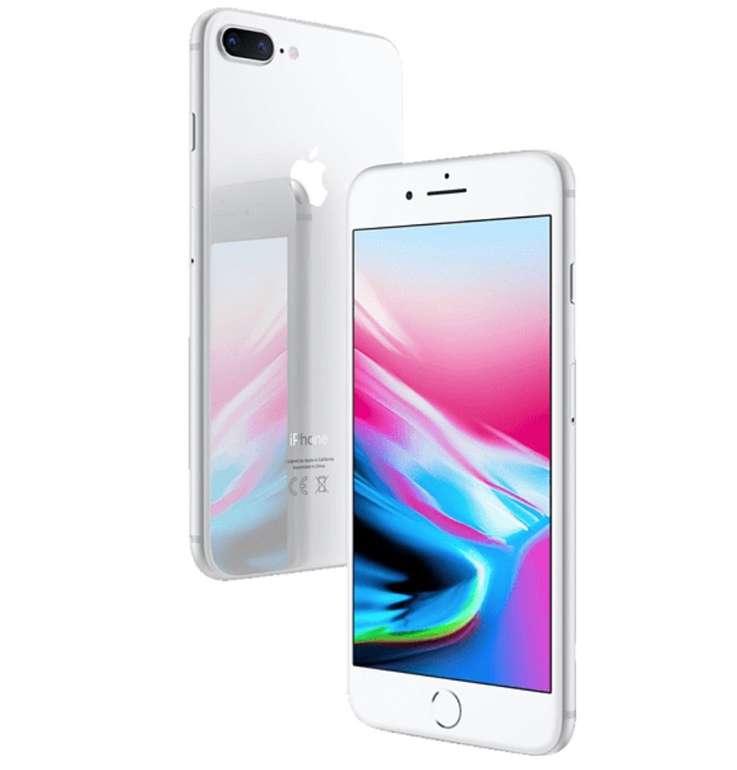 Apple iPhone 8 Plus mit 64GB Speicher in Silber, Gold oder Space-Grau für je 410,40€ inkl. Versand (statt 578€)